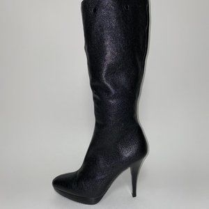 MICHAEL KORS Leather Heeled Boots NEW!